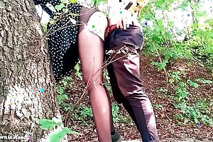 Handsome Teenager Blow and Dogging Man-meat Bf in the Woods