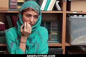 Shoplyfter- Scorching Muslim Nubile Caught & Sexually abused
