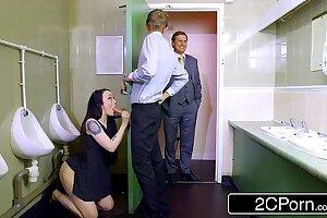 Daddy's Lil' Bathroom Cleaner - Bratty British Bi-atch Alessa Savage