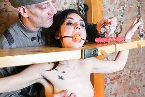 FORBONDAGE - BDSM Xtreme Torture For Sexy Pornstar Lullu Gun