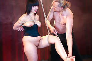 FORBONDAGE - BDSM Encounter For BBW German Teen Pina Deluxe