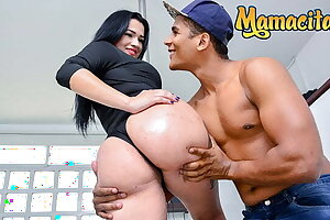 MAMACITAZ PAWG Latina Maria Del Rosario Point of view Romp At The Hotel