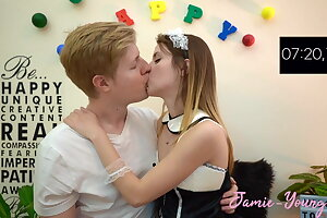 10 Minuten Make Out Challenge !! Jamie Youthfull