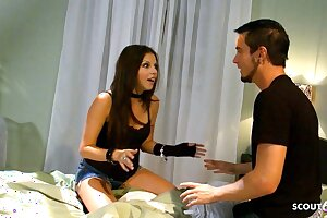 Dirty College Damsel Missy Stone Seduced to Cheat at a Party