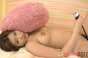 Ultra-cute Japanese Teenager Gets Her First Creampie