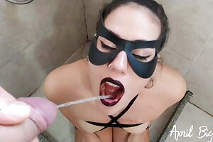 Guzzling pee for 3 days, training slave, more than 10 liters!!!!